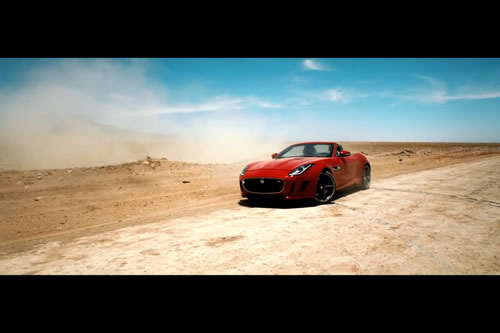 Jaguar F-TYPE presents Desire