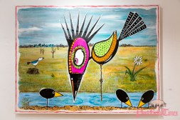 Fred Tieken - Aqua Art Miami © Steven D Morse – morsefoto.com