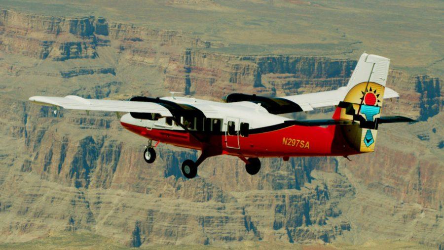 Gran Cañón Avión