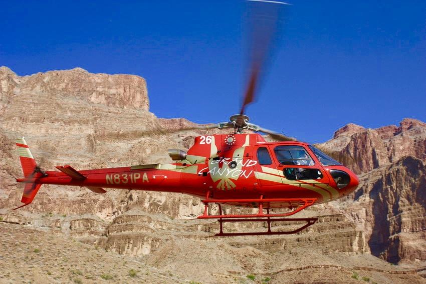Gran Cañon Helicoptero