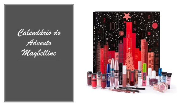 Calendários do advento Maybelline