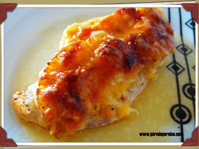 Pechugas de pollo con piña (receta rápida)
