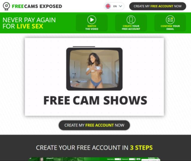Free Cams Exposed