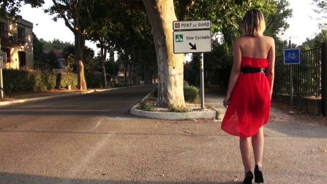 Journée de baise intensive au pont du Gard pour Messalina ! (vidéo exclusive)