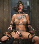 galeria de fotos Bonnie Rotten es adicta al BDSM y lo muestra