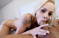 Doe-Eyed Petite Beauty Gets Banged – Elsa Jean
