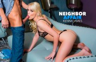 Kenna James hooks up with her single neighbor for extra cash – Kenna James