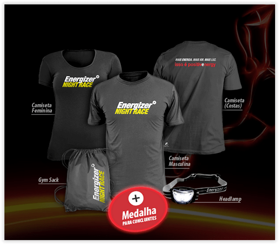Energizer Night Race Kit