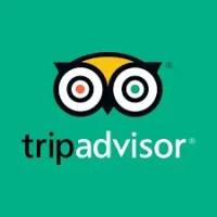 Logo de la aplicación de viaje Tripadvisor.