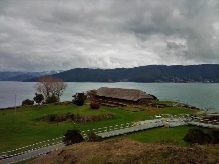 Fotografía del Fuerte de Niebla, Valdivia.