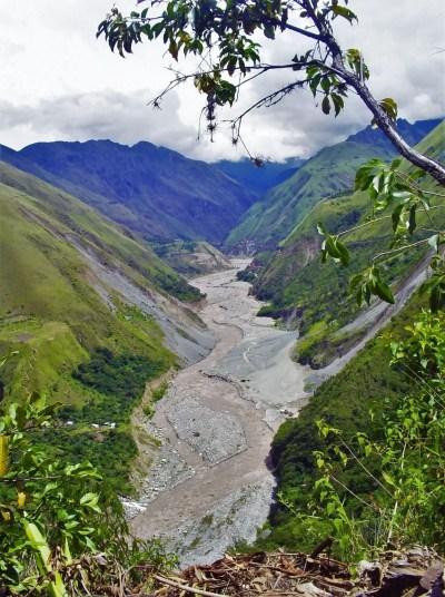 Fotografía del Camino a Machu Picchu.