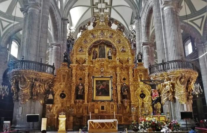 Catedral Metropolitana de Ciudad de México.