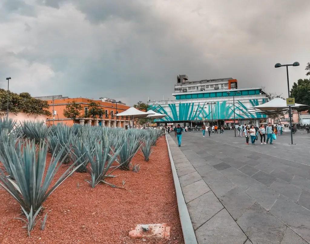 Viajar sola a México: Plaza Garibaldi.