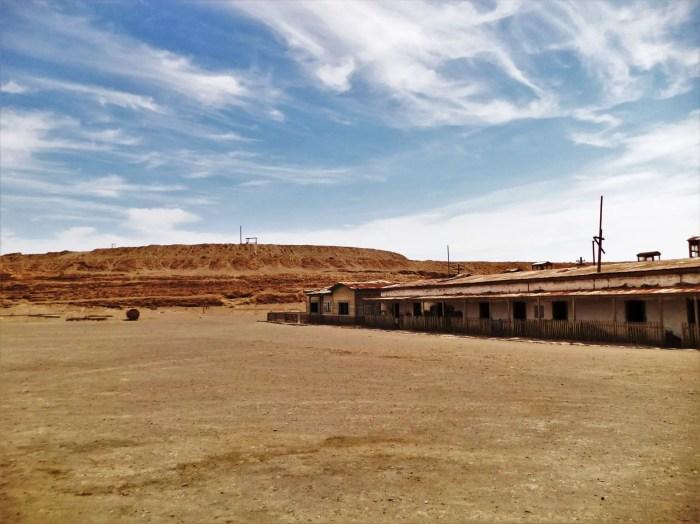 Fotografía de la Oficina Salitrera Humberstone.