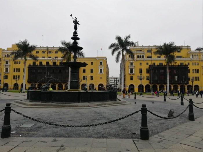 Centro Histórico de Lima, un buen lugar para viajar sola y barato.