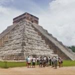 Pirámide de Chichén Itzá.