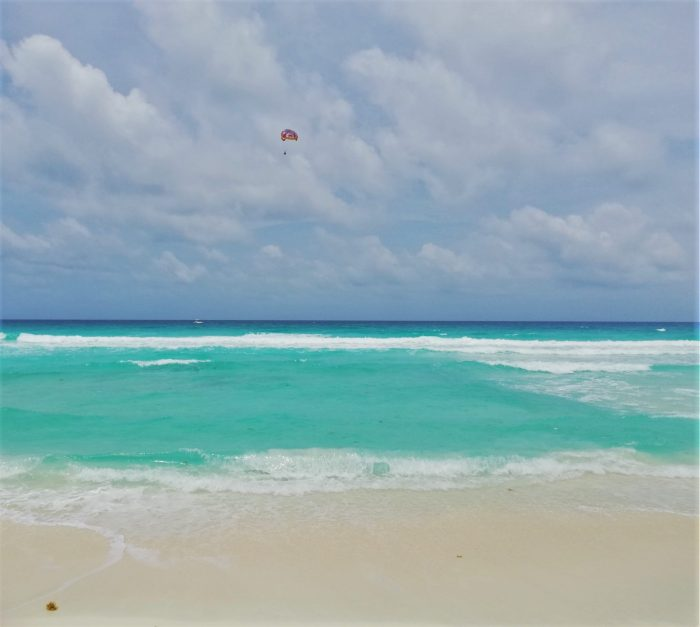 Playa de Cancún.