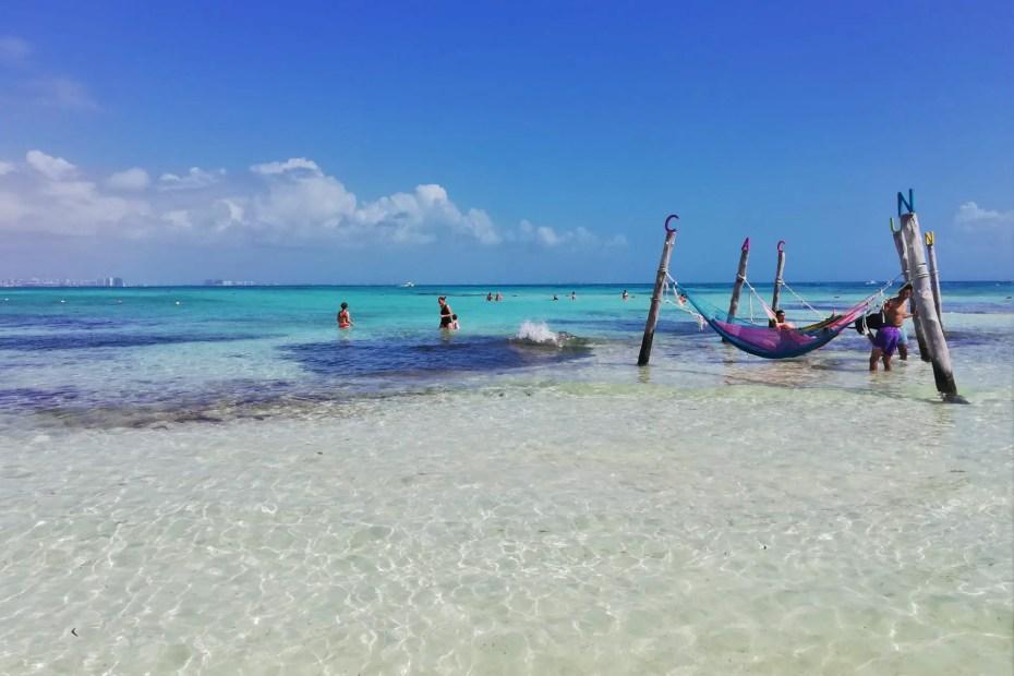 Playa del faro, una de las 5 playas imperdibles de Cancún