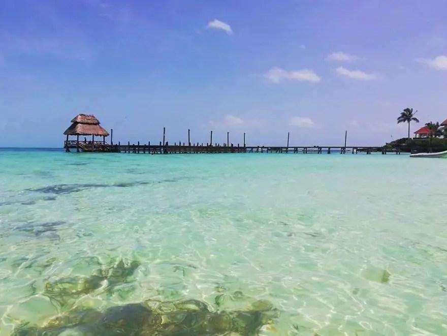 Isla Mujeres con poco dinero.