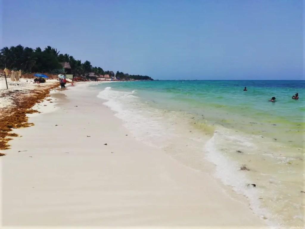 Viajar sola a México: Playa del Carmen.