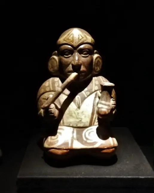 Pieza del Museo Larco de Lima.
