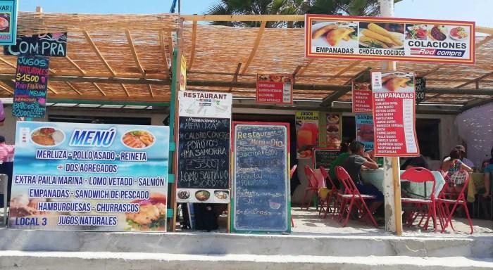 Restaurantes en Totoralillo.