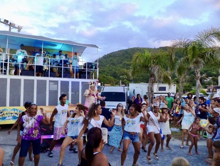 Pre-Carnaval en Florianópolis.