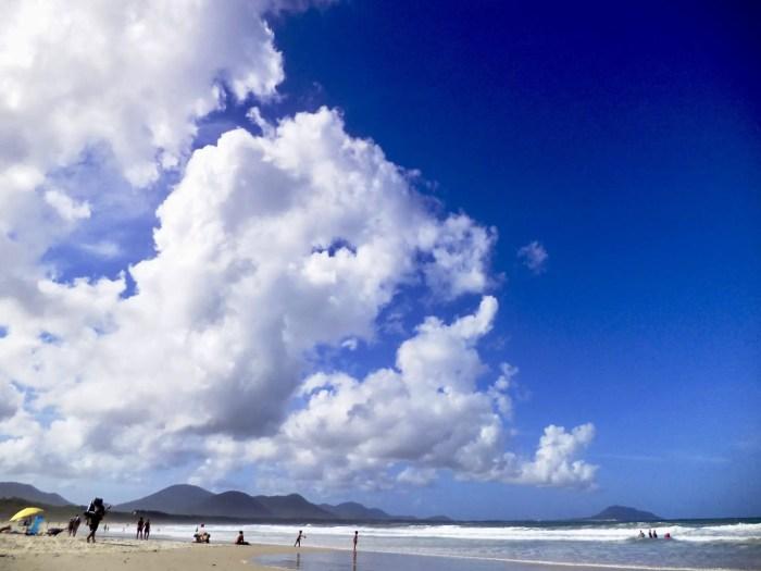 Playa de Barra da Lagoa, Brasil.