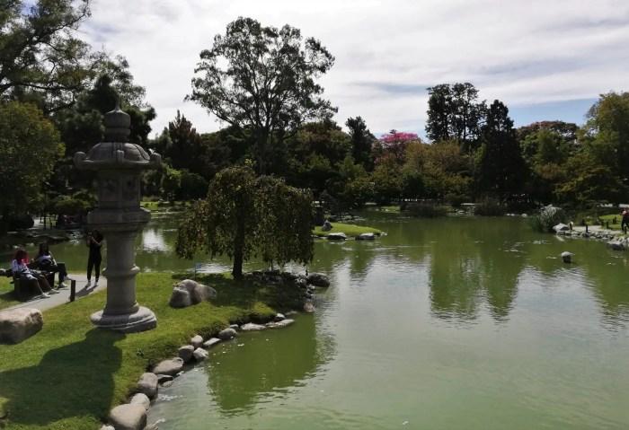 Jardín Japonés de Palermo, Argentina.