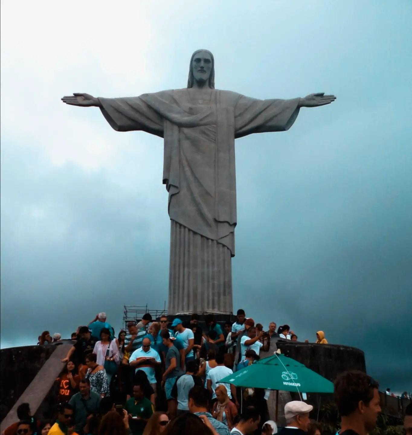 Cristo Redentor, uno de los imperdibles de Río de Janeiro.