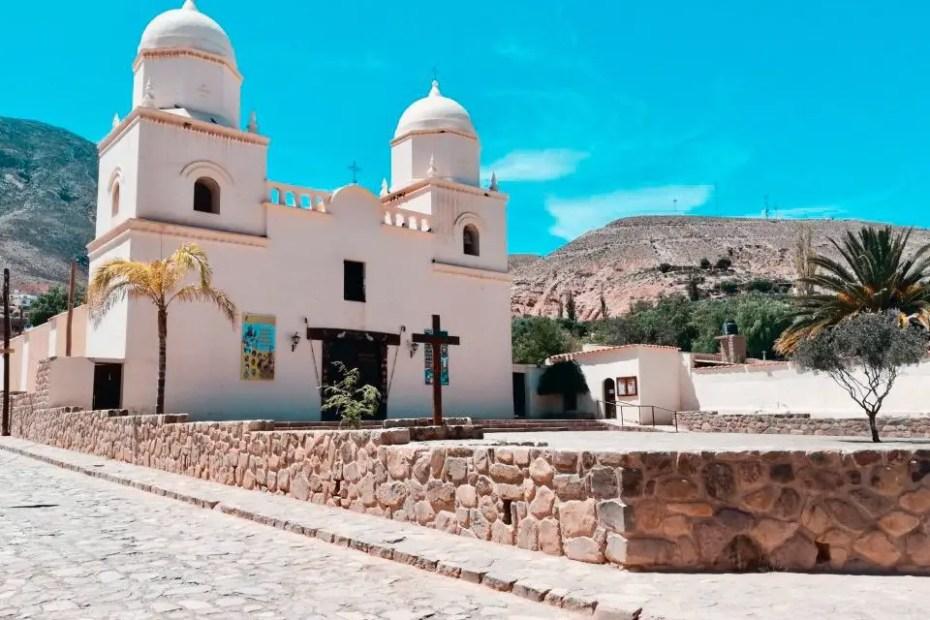 Iglesia de Tilcara.