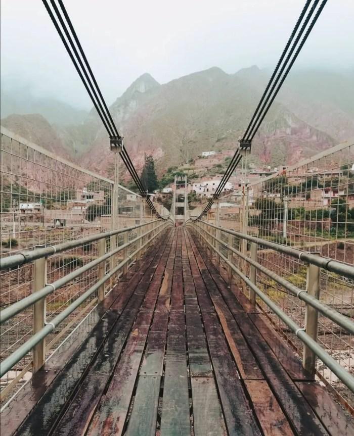 Puente de Iruya.