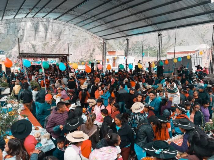 Festival de la copla en Iruya.
