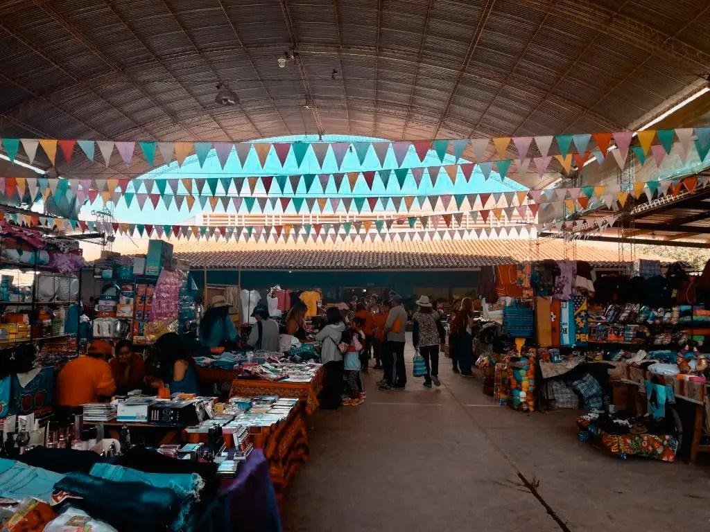 Mercado de Tilcara.