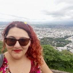 Foto en el Teleférico de Salta.