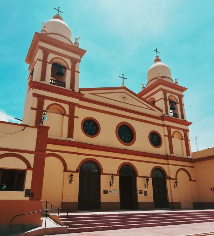 Iglesia de Cafayate.