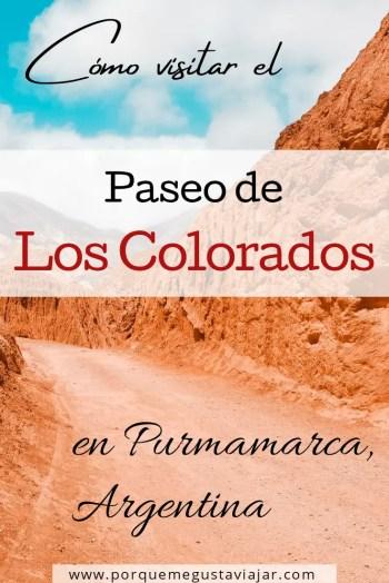 Pin Los Colorados.