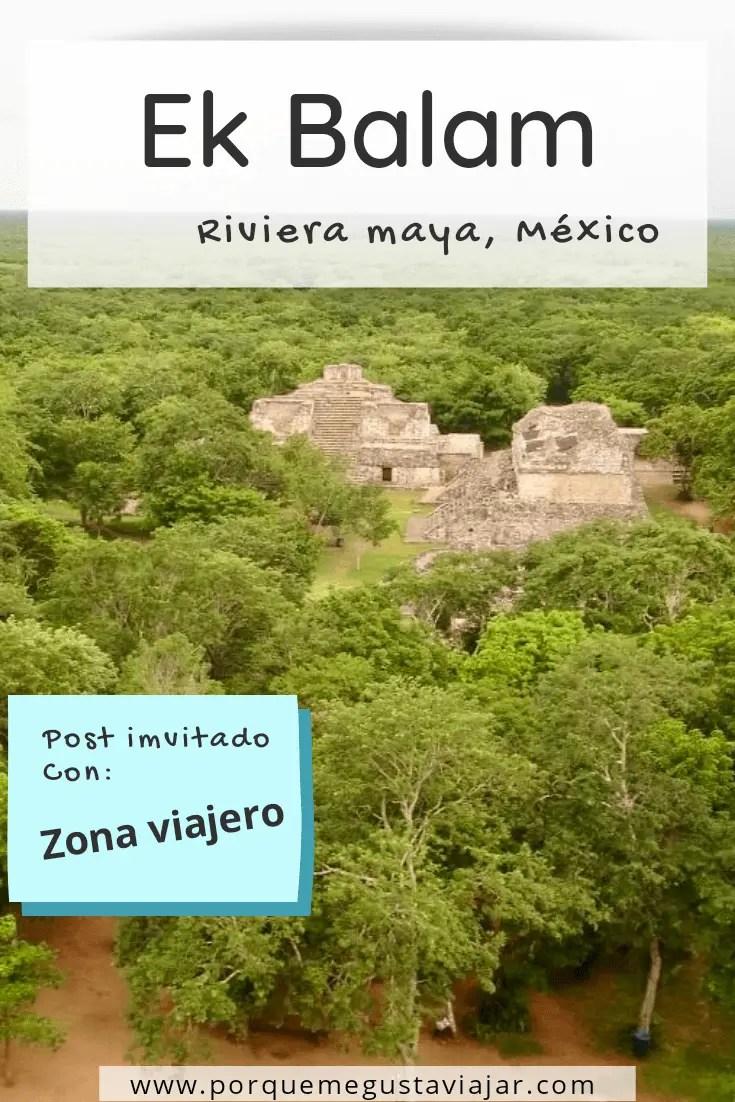 Visita a las ruinas de Ek Balam y a un cenote maya