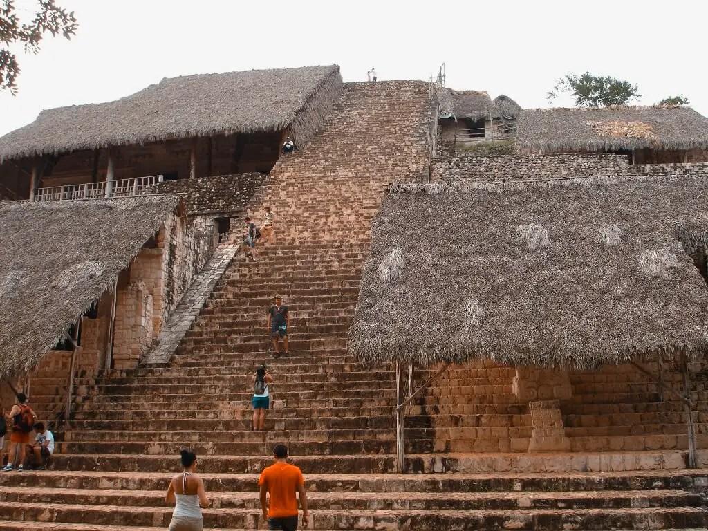 Zona arqueológica de México.