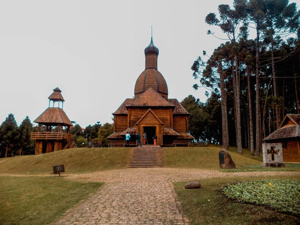 Memorial Ucraniano de Curitiba.