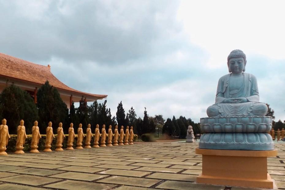 Templo budista en Iguazú.