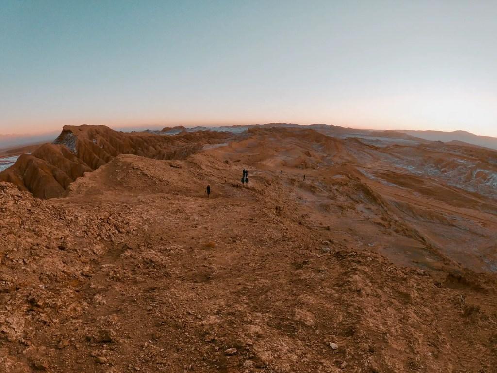 Trekking nocturno por la Cordillera de la Sal.