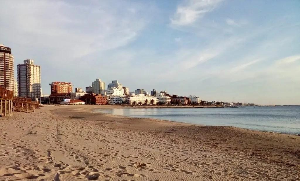 Playa Mansa.
