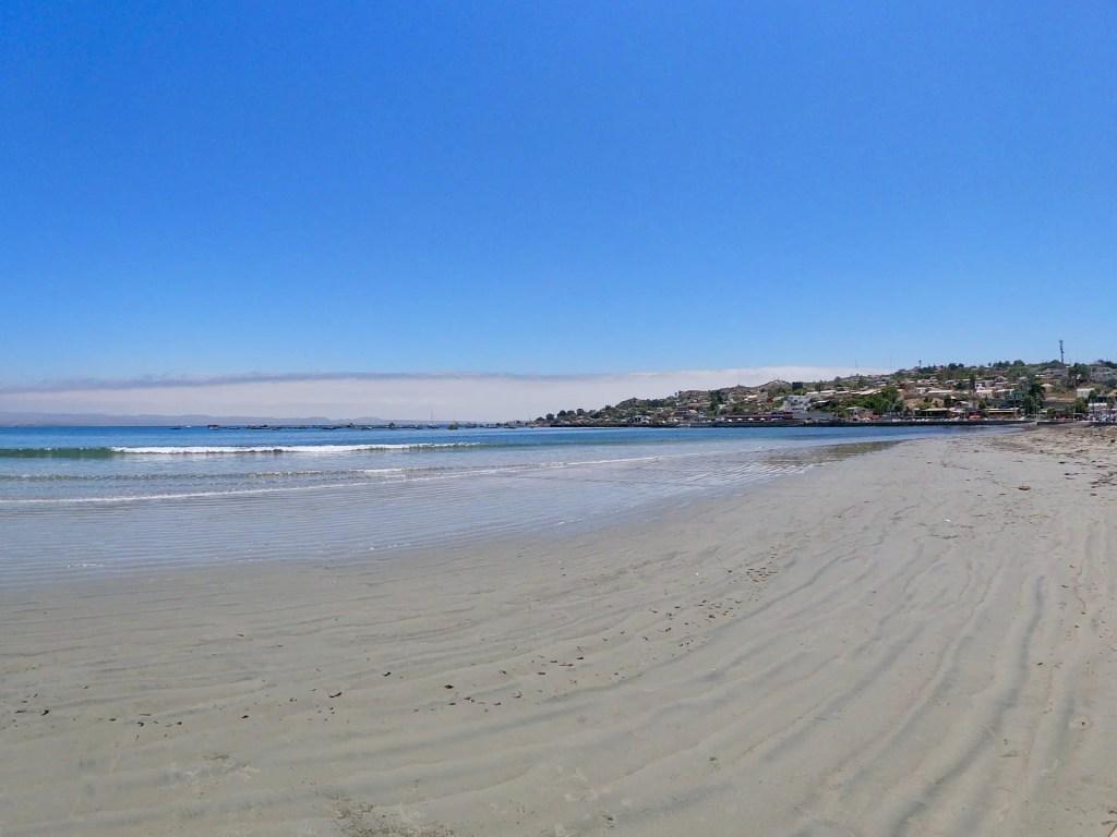 Playa Grande de Tongoy.