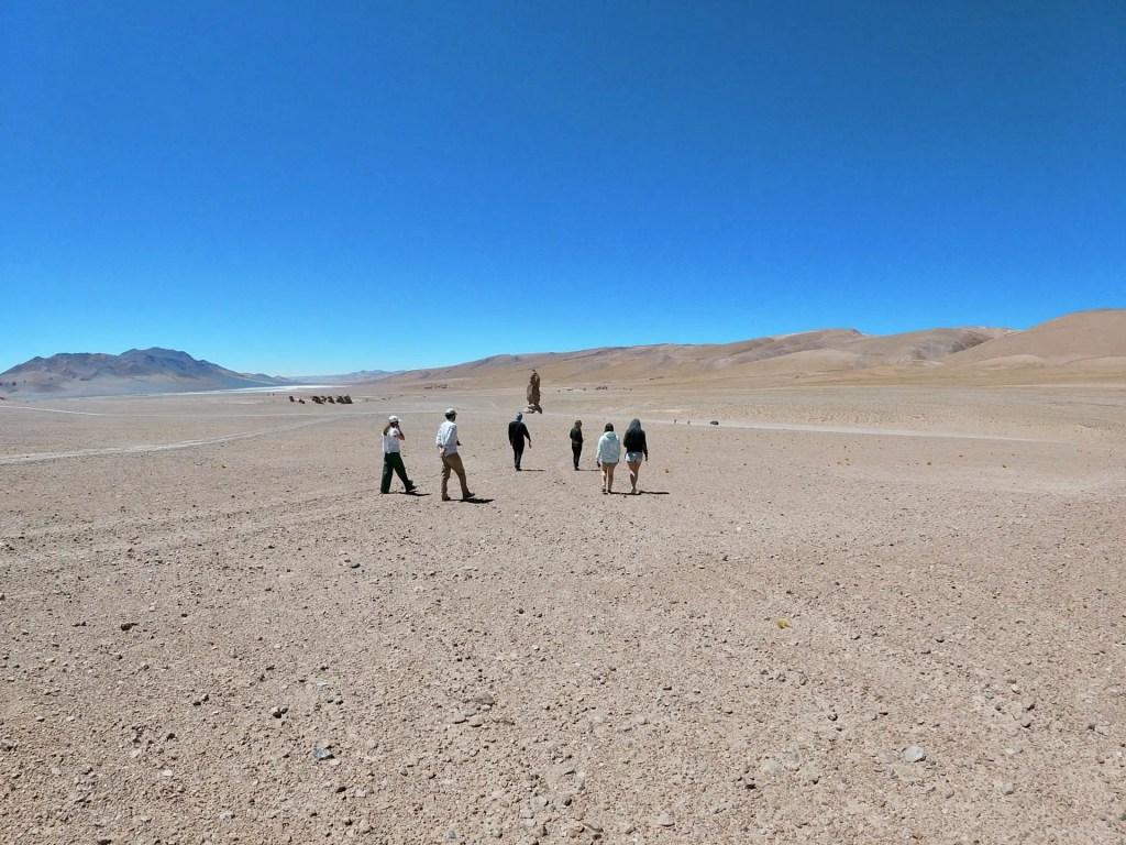 Monjes de la Pacana, San Pedro de Atacama.