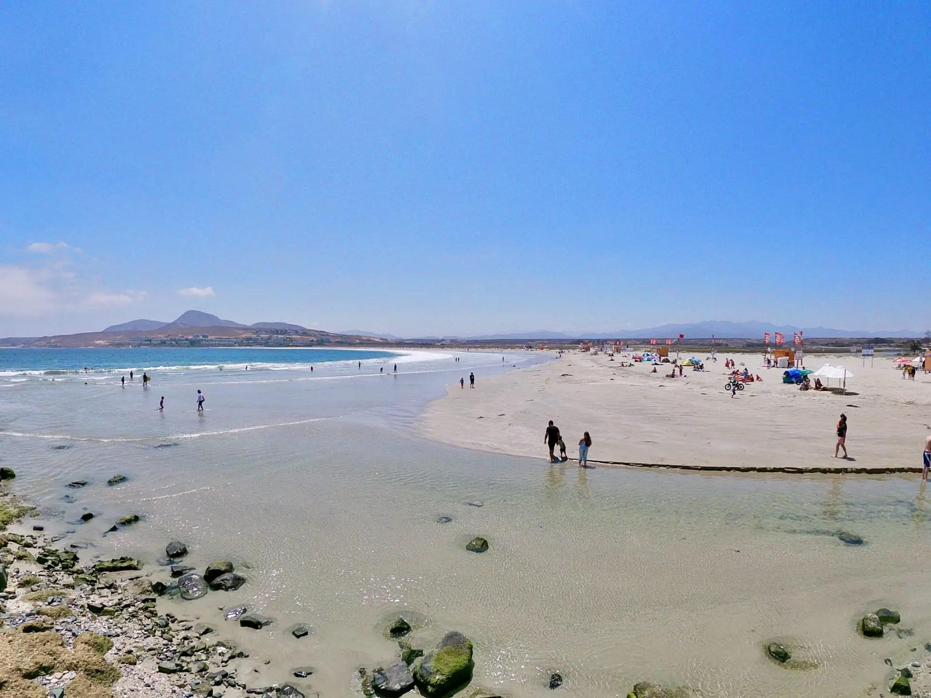 Playa Tongoy.