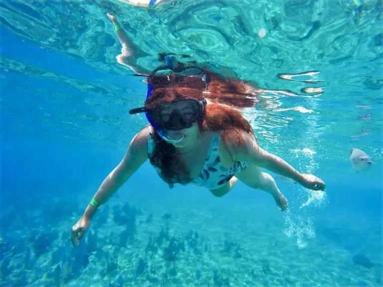 Cozumel es ideal para hacer snorkel.