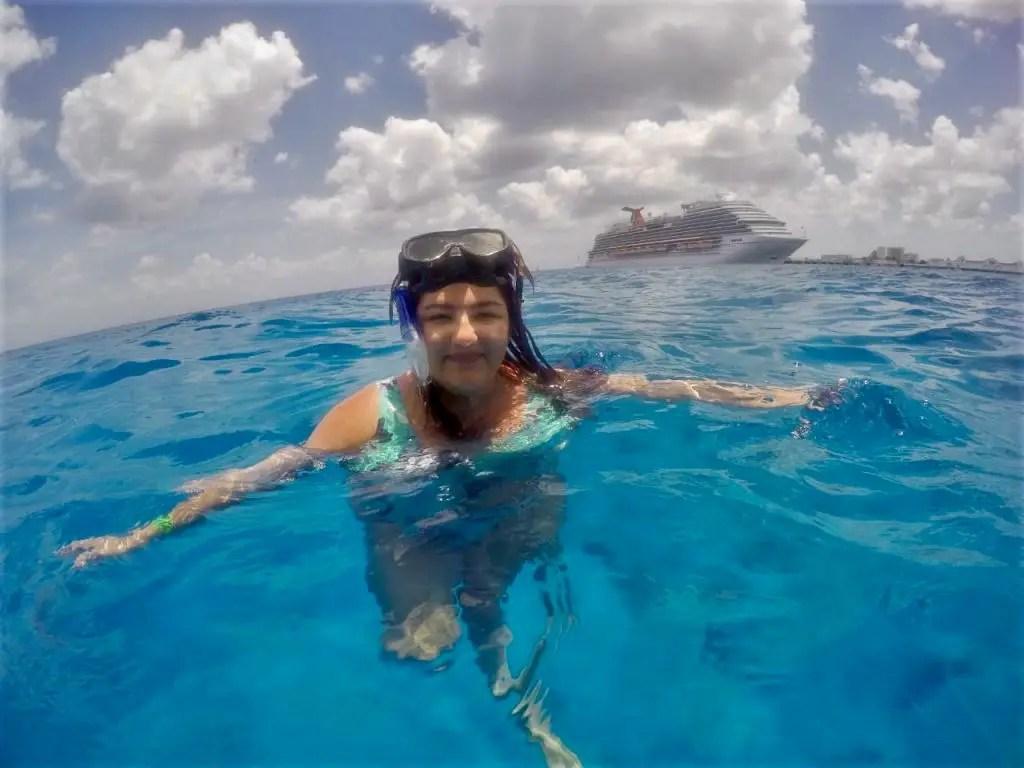 Cómo llegar a Cozumel desde Cancún: snorkel.