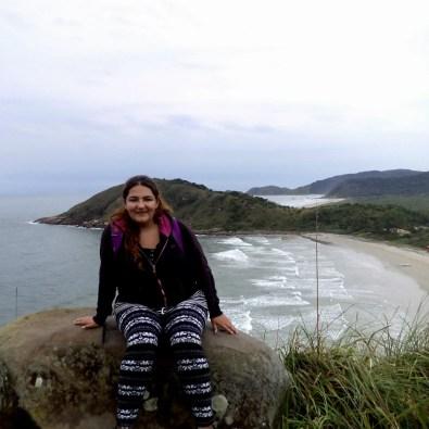 Foto en Ilha do Mel.