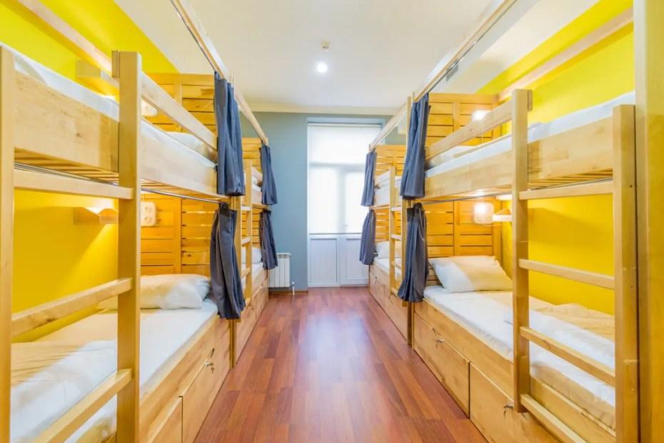 Cómo es realmente quedarse en un hostel.